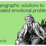 Seeking Geographic Solutions to Emotional Problems