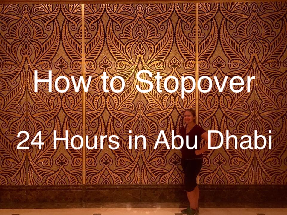 How to Stopover in Abu Dhabi